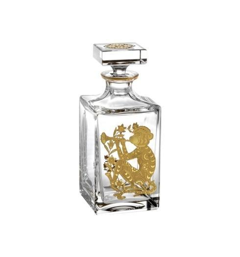 $395.00 Whisky Decanter with Gold Monkey