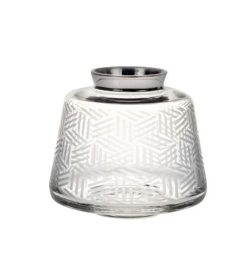 $213.75 Potto Small Vase with Platinum