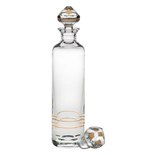 $345.00 Naipes Vodka Decanter with Gold