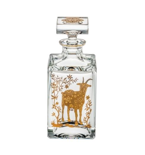 $395.00 Whisky Decanter with Gold Sheep