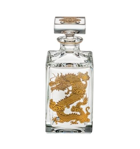 $395.00 Whisky Decanter with Gold Dragon