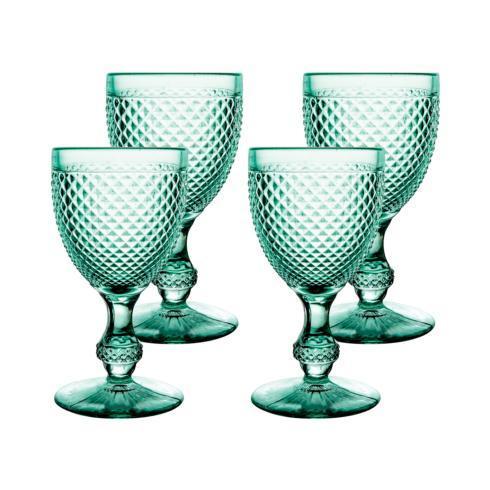 $70.00 Set 4 Goblets Mint