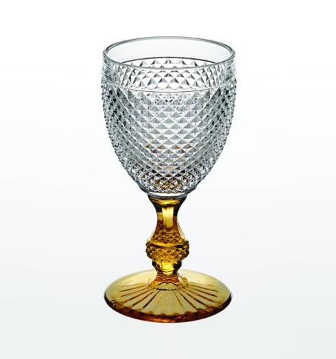 $38.00 Goblet with Amber Stem