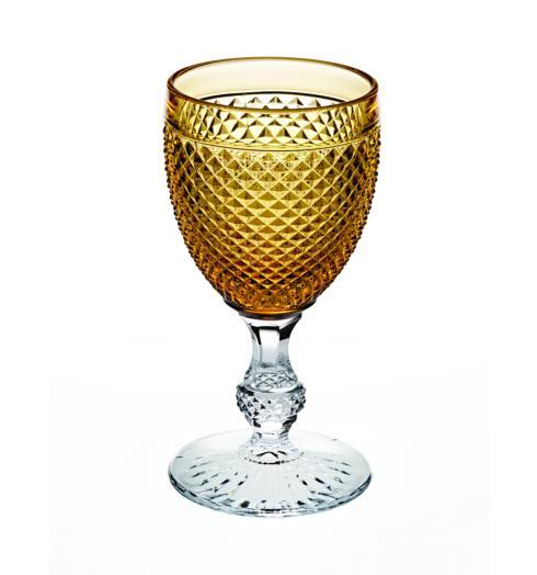 $38.00 Goblet with Amber Top