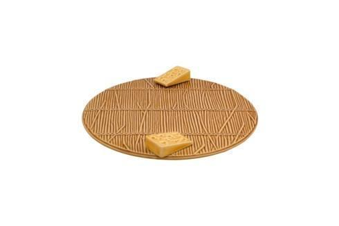 """$82.00 Yellow Cheese Tray with Yellow Cheese – 10"""""""