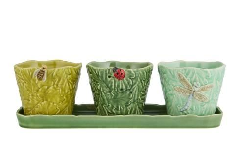$185.00 Set of Vases with Flying Bugs