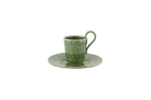 $39.00 Coffee Cup and Saucer - Green