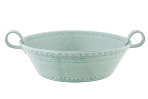 $127.00 Salad Bowl 29 - Morning Blue