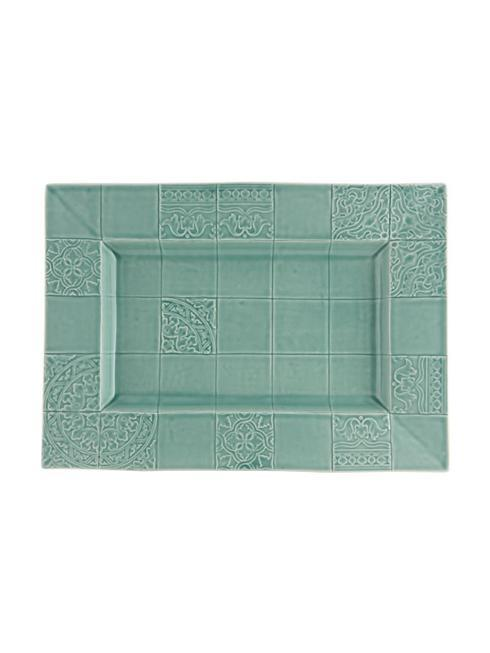 $94.00 Platter 45,5 - Morning Blue