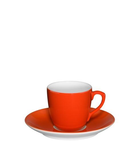 $41.00 Coffee Cup & Saucer Red
