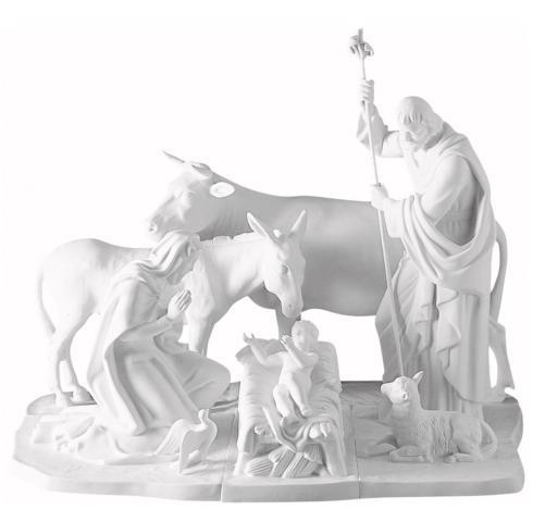 $3,166.00 5 Piece Nativity Set