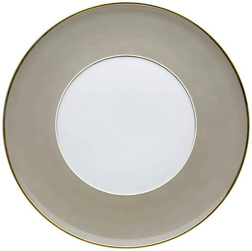 Charger Plate Grey and Gold