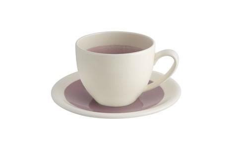 $16.00 Breakfast Cup And Saucer - Pink