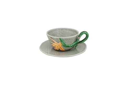 $39.00 Tea Cup And Saucer Bird Of Paradise