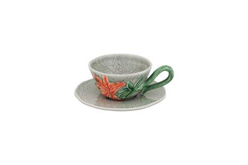 $29.25 Tea Cup And Saucer Iris
