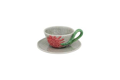 $29.25 Tea Cup And Saucer Torch Ginger