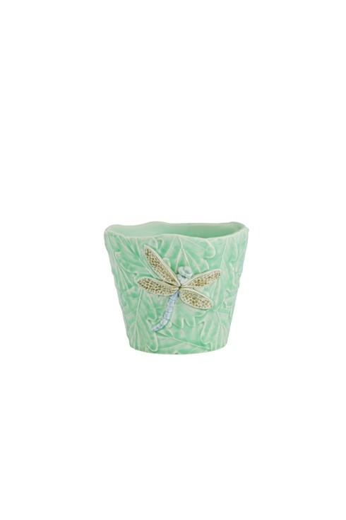 $54.00 Vase With Dragon-Fly