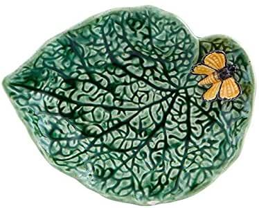 $50.00 Begonia Leaf with Butterfly