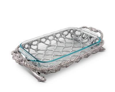 Arthur Court  Sea & Shore Casserole Holder - Fish Net $144.00