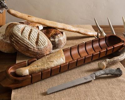 Baguette Board w/ Pewter Knife