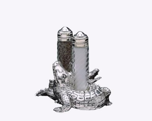Arthur Court  Alligator Salt & Pepper Set $35.00