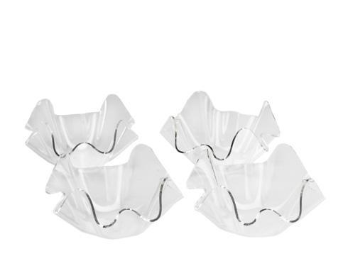 "Arthur Court  Grape 7"" Clear Acrylic Bowls-Set/4 $49.00"