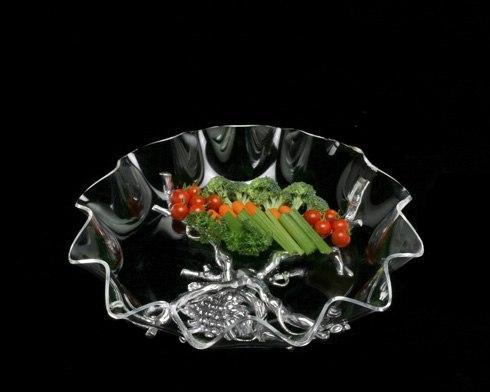"""$125.00 Stand w/16"""" acrylic bowl"""