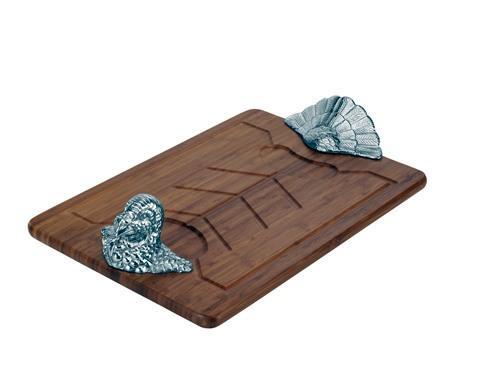 Turkey Bamboo Carving Board