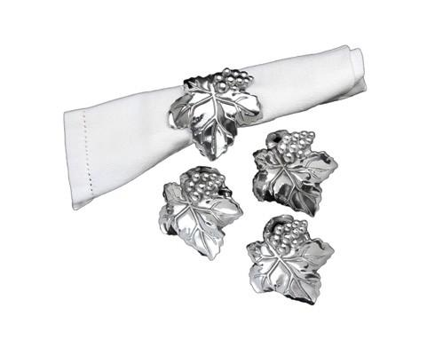 $25.00 Napkin Rings-Set/4
