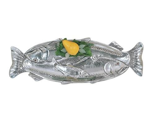 $55.00 Trout Oblong Tray