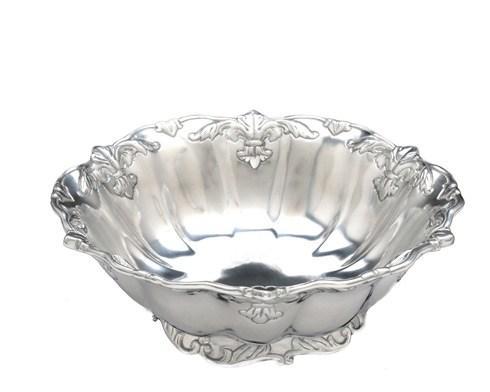 """Arthur Court  Fleur-De-Lis 12"""" Salad Bowl $99.00"""