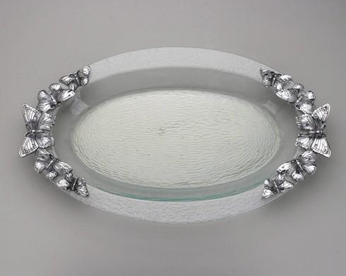 $89.00 Glass Platter