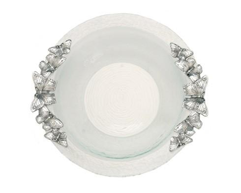$99.00 Glass Salad Bowl