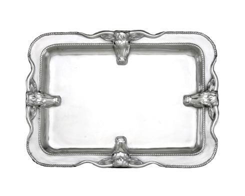 Arthur Court  Longhorn Large Platter $135.00