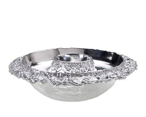 Appetizer Tray w/Glass Bowl