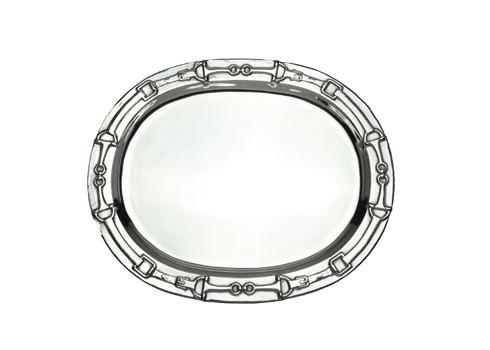 Arthur Court  Equestrian Oval Platter w/o Horses $110.00