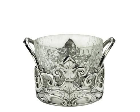 Arthur Court  Fleur-De-Lis Ice Bucket $125.00