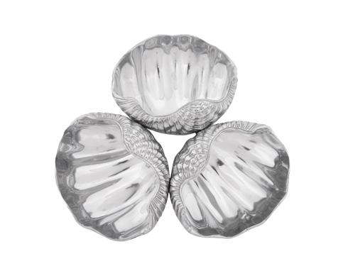 Arthur Court  Coastal Clam 3-Bowl Server $115.00
