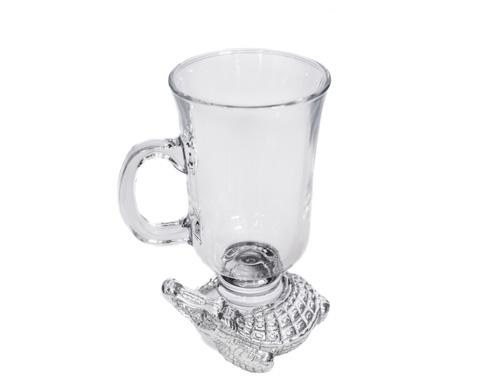 Glass Beverage Mug-Increments/6
