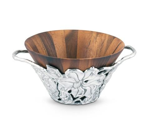 $220.00 Wood Tall Salad Bowl