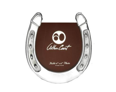 Arthur Court  Horse Horseshoe Photo Frame $29.00