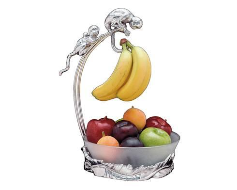 Arthur Court  Safari Monkey Banana Holder w/Bowl $125.00