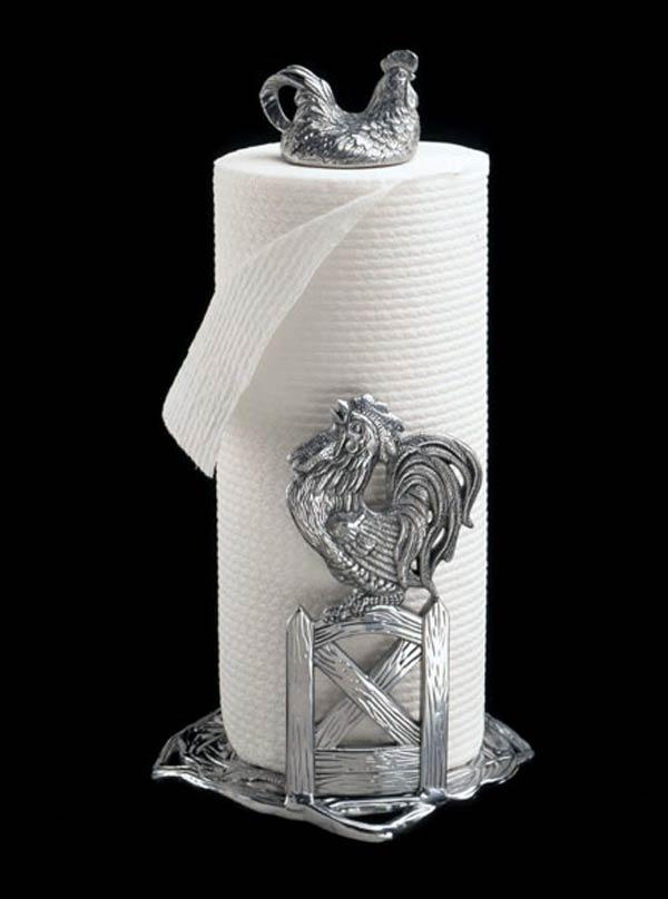 $59.00 Rooster Paper Towel Holder