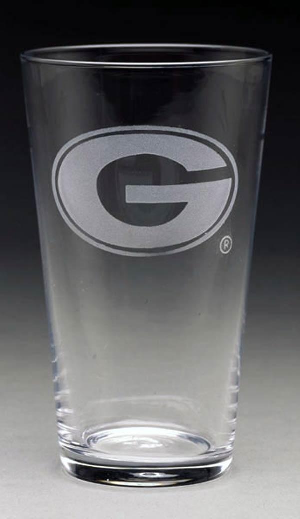 Arthur Court  University of Georgia Pub Glass $10.00