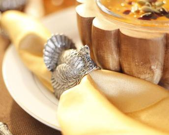 $35.00 Turkey Napkin Rings