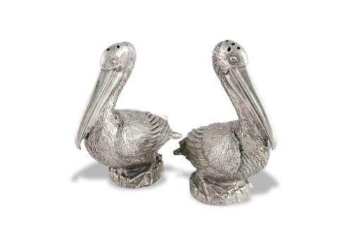 Vagabond House  Sea And Shore Salt And Pepper - Pelican $74.00