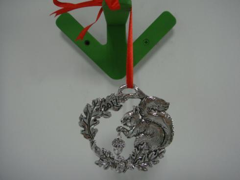 2017 Squirrel Ornament