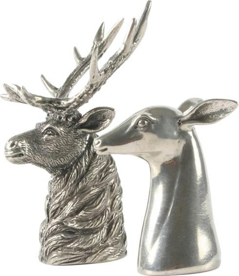 $83.00 Salt And Pepper - Elk And Doe
