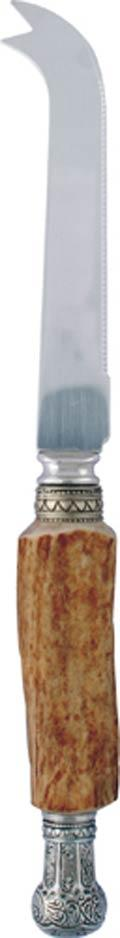 Vagabond House  Horn Pewter Crown Cheese Knife $55.00