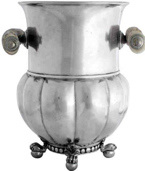 $352.00 Wine Bucket - Pewter Medici